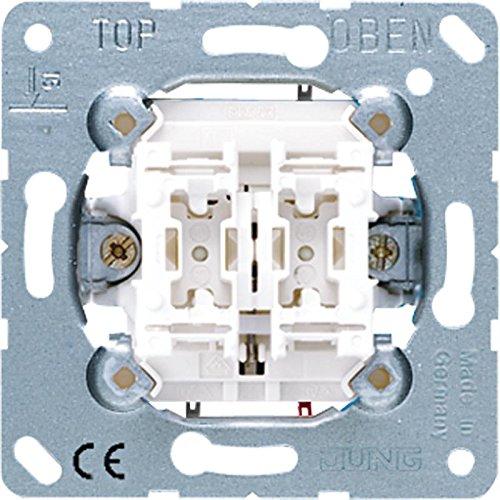 Jung 539 VU Jal.-Taster-Einsatz m.Sperre gegen doppelseitiges Einschalten