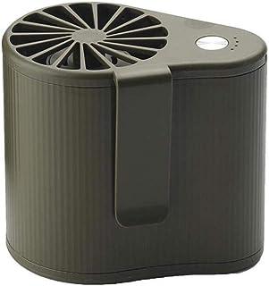 SOWLFE (3 Colores) Mini Ventilador para Colgar la Cintura - Ventilador portátil con Enfriador de Aire Acondicionado con Carga USB | Enfriador de Aire Manual para Acampar, Viajar, Ciclismo