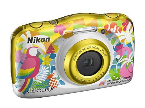 Nikon Coolpix W150 Fotocamera Digitale Compatta, 13.2 Megapixel, LCD 3 , Full HD, Impermeabile, Resistente agli Urti, alle Basse Temperature e alla Polvere, Resort [Nital Card: 4 Anni di Garanzia]