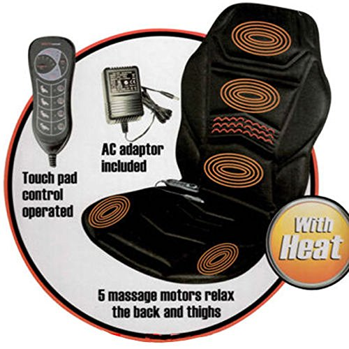PureMate PM6001 Heated Back Seat Massage Cushion...