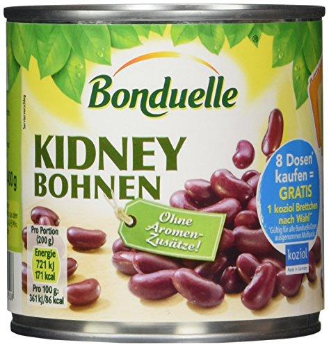 Bonduelle Kidney Bohnen, 12er Pack (12 x 400 g)