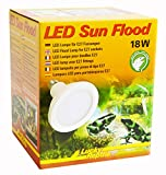 [page_title]-Lucky Reptile LED Sun FLOOD 18W, leistungsstarke LED Lampe mit E27 Fassung