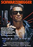Der Schwarzenegger Terminator Filmposter, A4, Poster/Druck,