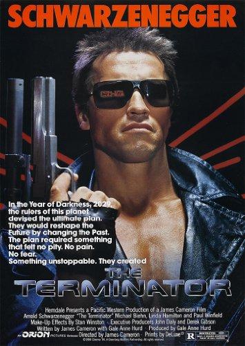 La película Terminator Schwarzenegger A4 cartel/impresión/foto 260GSM Papel fotográfico satinado