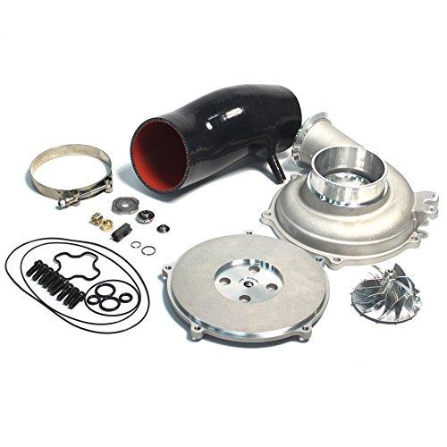Powerstroke 7.3L GTP38 Turbo Bigger 66/88mm Billet Compressor Wheel DIY Upgrade Rebuild Kit