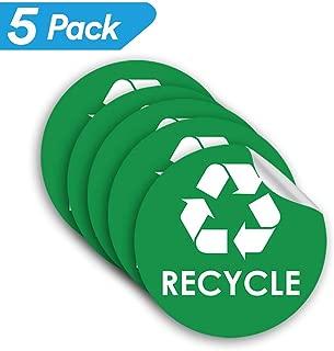 Recycle Sticker Trash Bin Label - 4