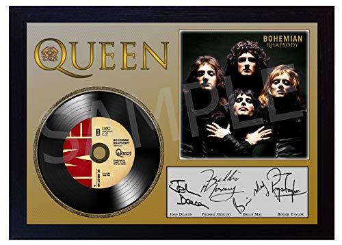 SGH SERVICES NEU! Foto, mit Autogramm von Freddie Mercury Queen Bohemian Rhapsody