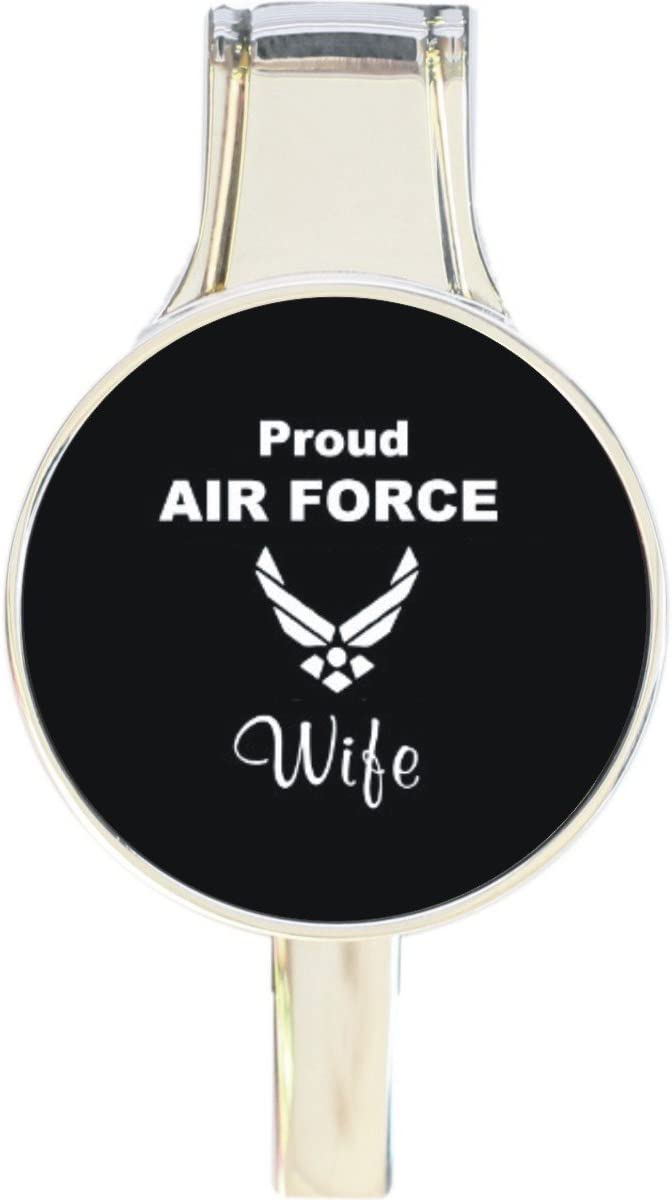 Proud Air Force Sale item Wife SEAL limited product Everything Hook Retrac Hanger Purse Handbag