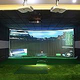aikeec 118'X102' Golf Ball Training Simulator Impact Display Projecter Screen Indoor 300X260CM