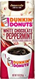 Dunkin' White Chocolate Peppermint Flavored Ground Coffee, 11 Ounces - PACK OF 2
