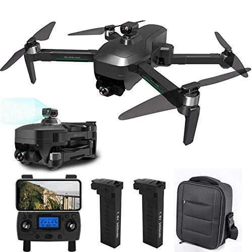 RC Drone con Camara 4K HD, Fotografía de Gestos con Las Manos, Vuelo de Ruta, Duración de la Batería 26 Minutos, Posicionamiento de Flujo óptico, Drone para Principiantes