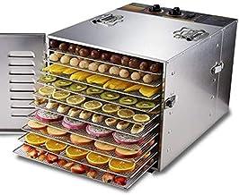 Facile à nettoyer 10 plateaux automatique Déshydrateur alimentaire fruits en acier inoxydable et sèche déshydratation de l...