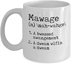 mawage definition mug