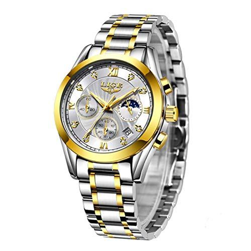 LIGE Women Men Unisex Reloj De Pulsera Luxury-Business Quartz Analogous 8912
