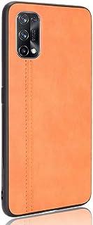 Wuzixi Case for vivo V20 2021,Matte non-slip, scratch-resistant and fingerprint-resistant PU leather hand-stitched protect...