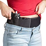 Belly Band Holsters,9mm Holsters for Concealed Carry,Breathable Neoprene Holsters for Pistols for Easy Hiding, Both Men and Women, Suitable for Glock, S&W M&P, Sig Sauer, Beretta, 1911, Etc.