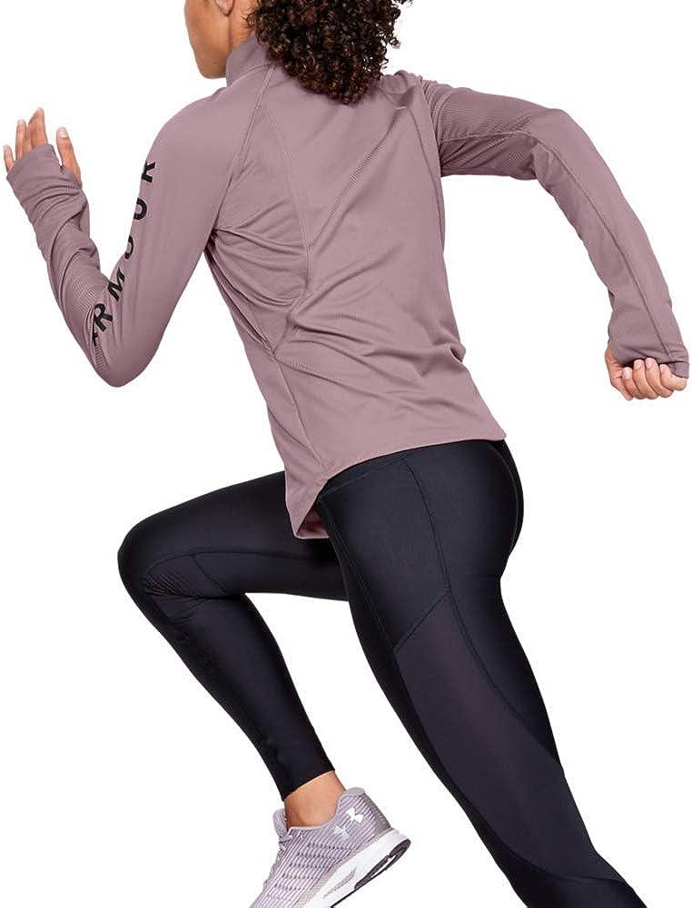 Under Armour Speed Stride Split Wordmark Half Zip Parte Superior del Calentamiento Mujer