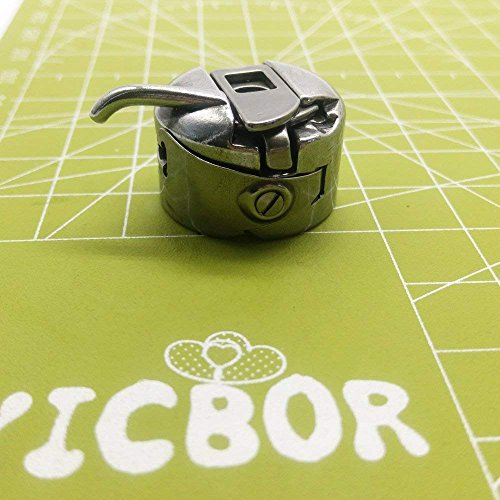 YICBOR 2 Spulenkapseln #BC-HA1 für Heimnähmaschine Bernina Activa 125, 130, 131, 135