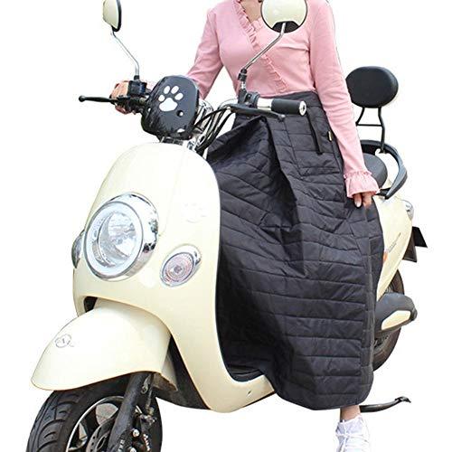 Invierno Cubierta de la Motocicleta Protector Rodilla Calentador Montar a Prueba de Viento Falda de algodón de la Rodilla Manta de la Rodilla Pierna de Cintura Impermeable Acolchado eléctrico Cálido