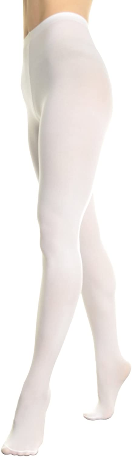 Angelina 6PairPack ProfessionalGrade Ballet Tights  248M L_wht6