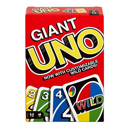 Mattel Games UNO, Uno Gigante, Multicolor