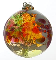 "Kitras Glass 6"" fair orb"