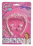 4everWithU Shandaar Steffi Love Girls Tiara Set (Color y el diseño Puede Variar) FZC # 65