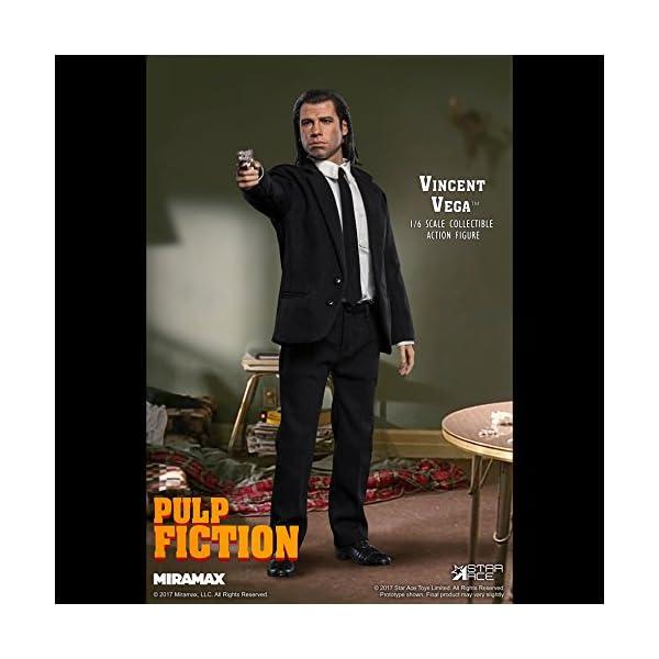 Star Pulp Fiction My Favourite Movie Action Figure 1/6 Vincent Vega 30 cm Toys 5