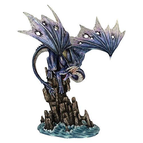 Nemesis Now Figur Leviathans Wut, 46,5 cm, Kunstharz, Violett, Einheitsgröße