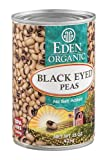 Eden Organic Black Eyed Peas, No Salt Added, 15-Ounce Cans (Pack of 12)...