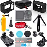 TOMAT OSMO Action Accessories Kit for DJI OSMO Action Camera Cage Case Tripod Expansion Mount