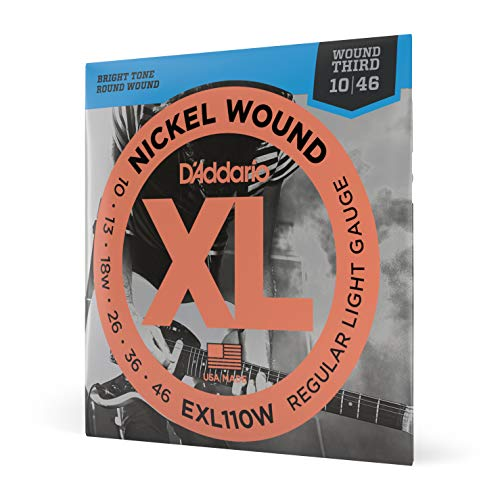 D'Addario EXL110W Nickel Wound Electric Guitar Strings