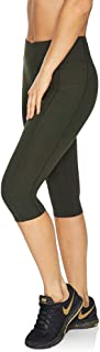 Rockwear Activewear Women's 3/4 Perforated Pocket Tight from Size 4-18 for 3/4 Length High Bottoms Leggings + Yoga Pants+ ...
