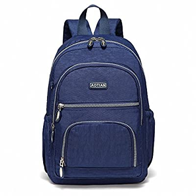 AOTIAN Lightweight Durable Travel Hiking Women and Girls Small Backpack Daypack 9 Liters Blue