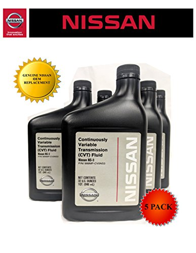 Genuine Nissan OEM CVT-3 Transmission Fluid 999MP-NS300P (5 Quarts)