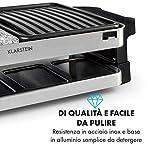Zoom IMG-2 klarstein sirloin piastra per raclette