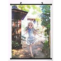 あの日見た花のアニメ壁掛けポスターホームアートデコレーション16x24inch / 40x60cm