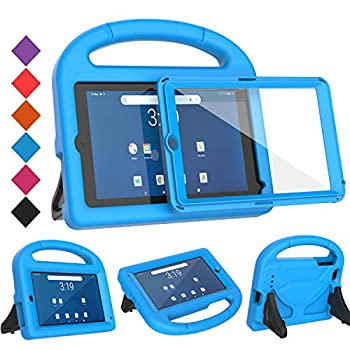 BMOUO Kids Case for Walmart Onn 7 inch Tablet with Built-in Screen Protector Shockproof Light Weight Handle Stand Case for Surf Onn 7  Android Tablet 2020/2019  Model  100005206/100015685 ,Blue