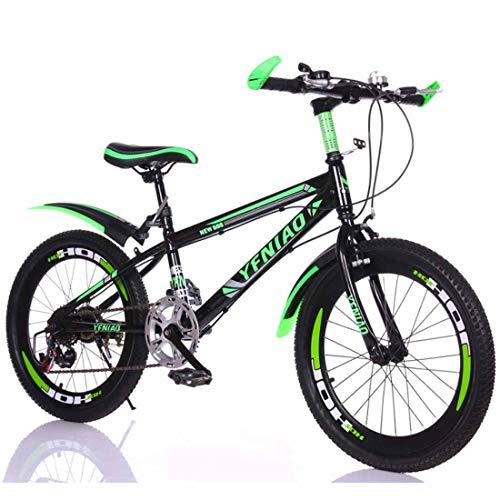 Muyu Kinderfiets 20,22 inch voor meisjes en jongens vanaf 8 jaar kinderfiets mountainbike fiets voor kinderen