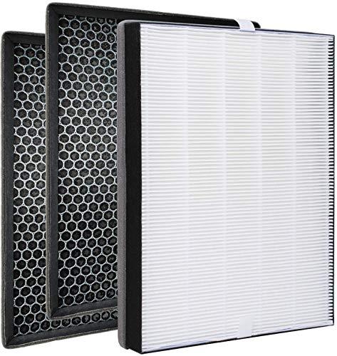 Poweka FY2420/30 FY2422/30 - Filtro de repuesto compatible con el purificador de aire Philips serie 2000 2000i, sustituye al filtro AC2889 AC2887 AC2882 AC3829,3 piezas