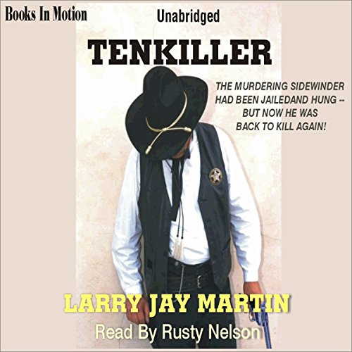 Tenkiller audiobook cover art