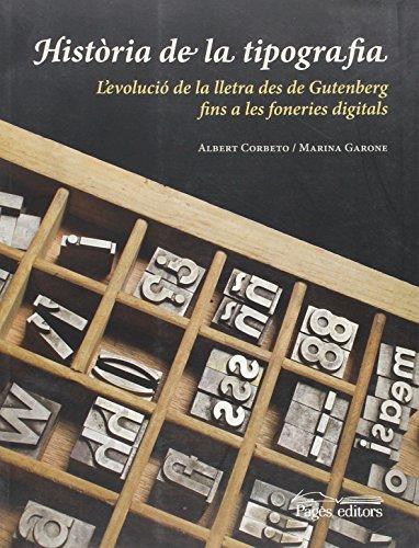 Història de la tipografia (Monografies)