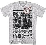 Officielle–U2–Zoo extérieur–Homme Gris T Shirt -  gris - moyen