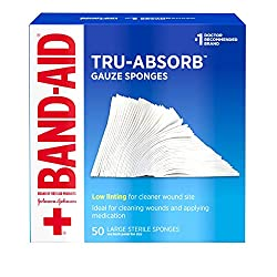 Bandages for the Amazon bug out bag list