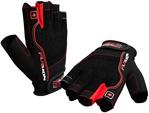 Weightlifting Gloves for Crossfit Workout Training - Fitness Biking Cycle & Gym Gloves for Men & Women - Best Glove for Weight Lifting W. Wrist Closure - Enhance Grip & Eliminate Blisters & Calluses