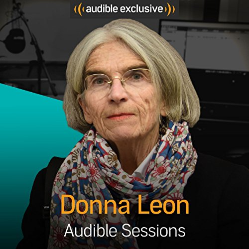 Donna Leon audiobook cover art