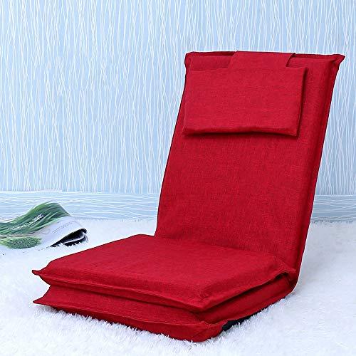 AiHerb.LO JL HX Long Lit dans Le Dos Paresseux Canapé Tatami Lit Japonais Pliant Simple Canapé Arrière Fenêtre Chaise A+ (Couleur : C)