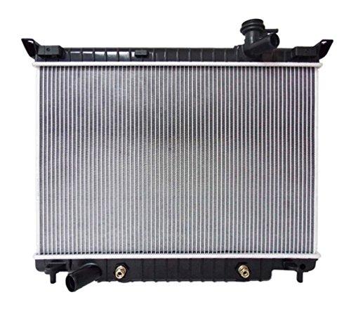 Sunbelt Radiator For Chevrolet Trailblazer GMC Envoy 2458 Drop in Fitment