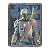 Star Wars Woven Tapestry Throw Blanket, 48 x 60 Inches, Alone