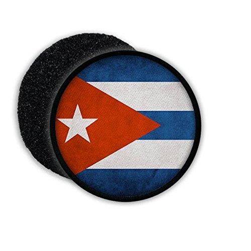 Copytec Patch Cuba Kuba República de Cuba Spanisch Republik Havanna Flagge Fahne Flag Abzeichen Wappen Aufnäher Emblem #20565